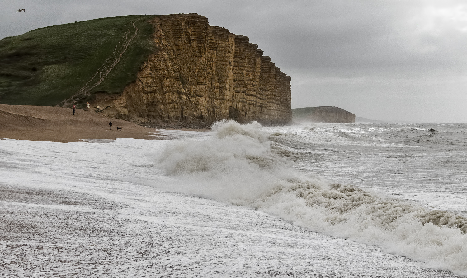West Bay waves