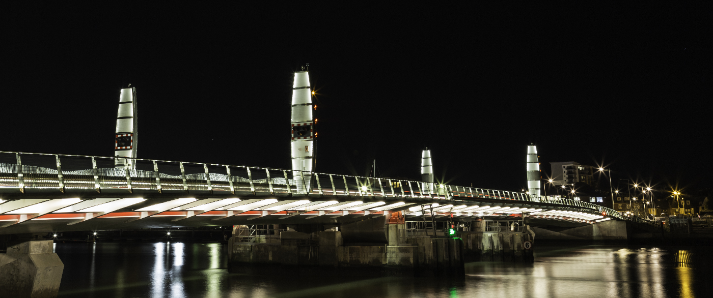 Twin Sails bridge resting!