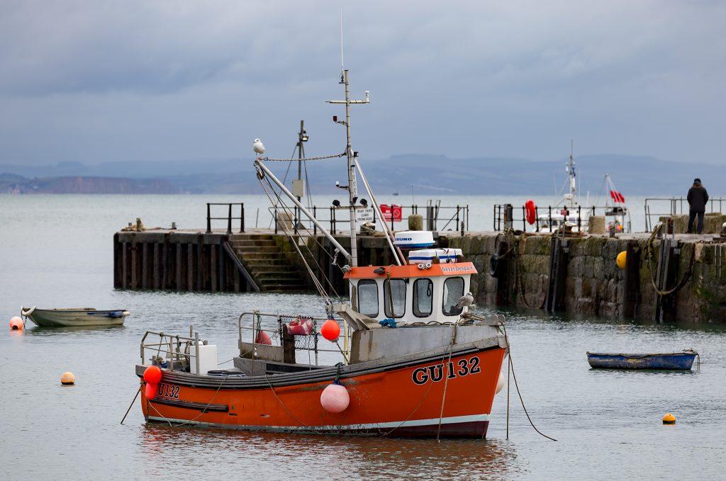Fishing boat Lyme Regis