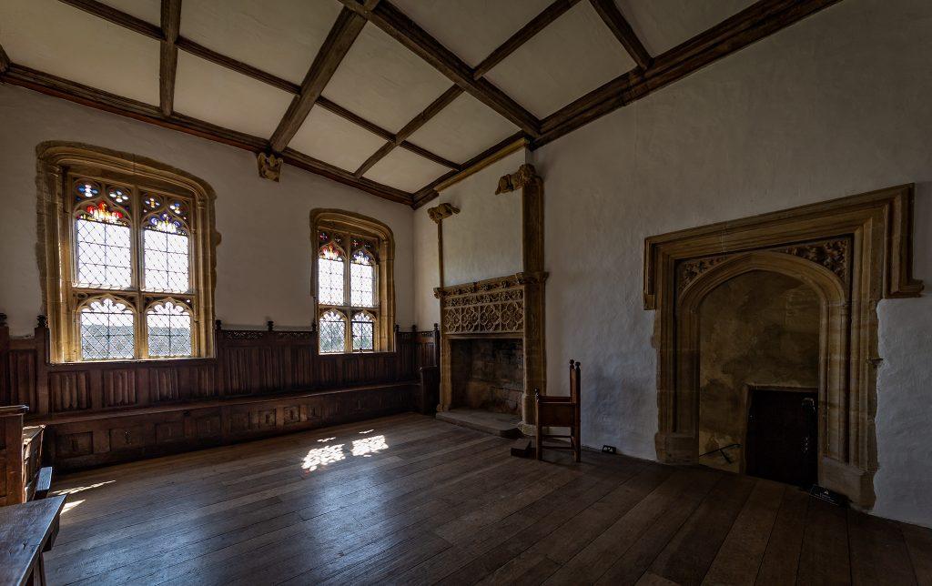 Muchelney Abbey interior