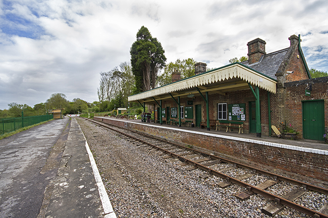 Shillingstone Station, Dorset