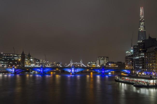 View from the Millenium bridge