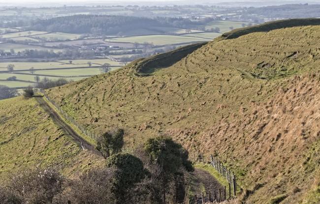 Path up Hambledon