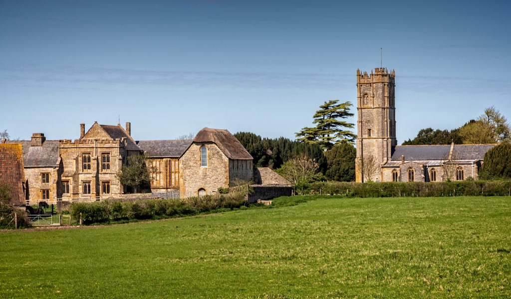 Muchelney church and Abbey