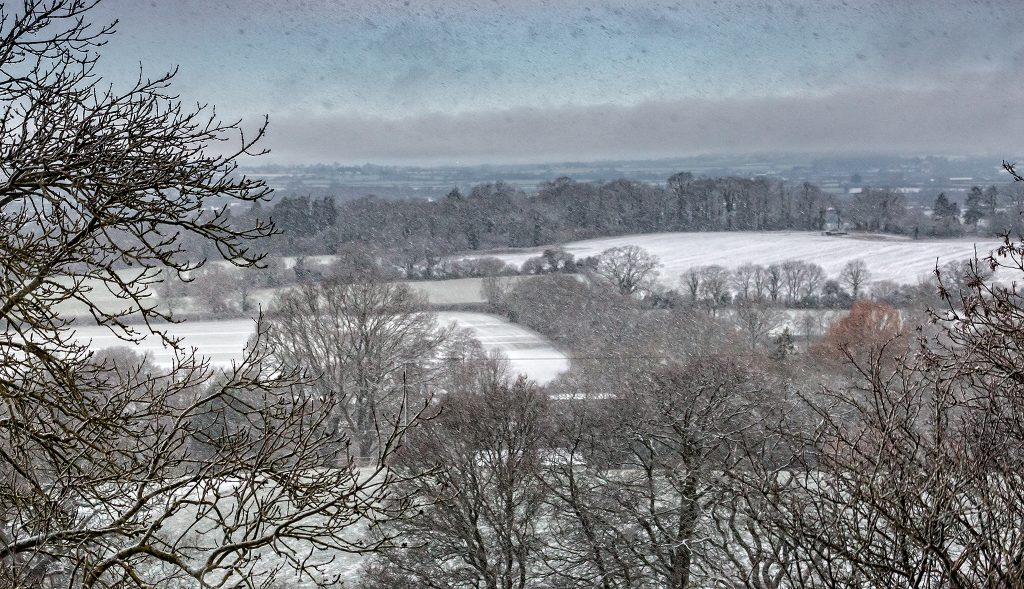 Snowing over the Vale
