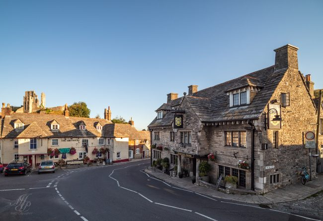 Centre of Corfe village