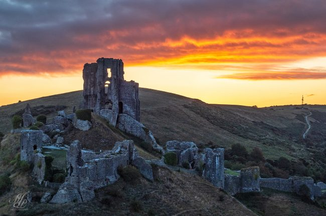 Before Dawn, Corfe Castle
