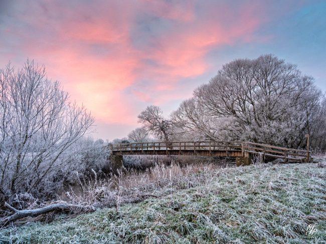 Footbridge to Bere Marsh